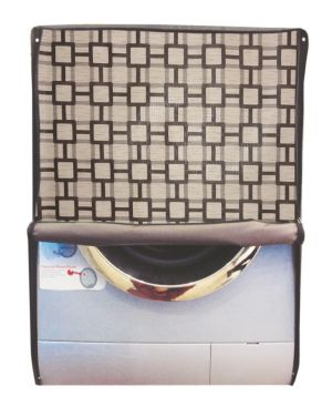 Buy Glassiano Printed Waterproof - Dustproof Washing Machine Cover For Front Loading 8.5 Kg Model online