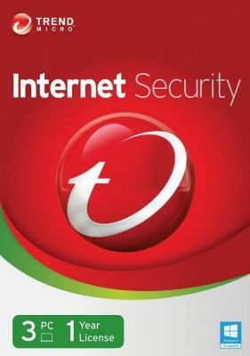 Buy Trend Micro Internet Security 1 Year 3 PC Licence Key online
