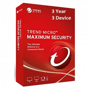 Buy Trend Micro Maximum Security 3 Year 3 PC Licence Key online