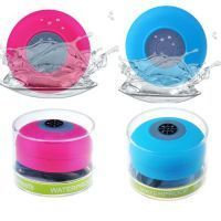 Buy Portable Waterproof Bluetooth Speaker With Suction Cup Mic online