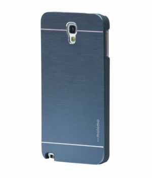 Buy Tup Motomo Metal Back Case Cover For Samsung Galaxy Note3 Neo N7505 Blue online