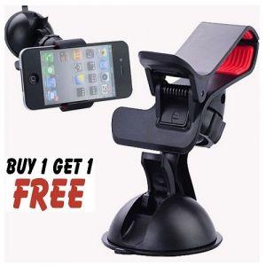 Buy Hands-free Multifunction Car Steering Mobile Phone Holder Buy 1 Get 1 Free online