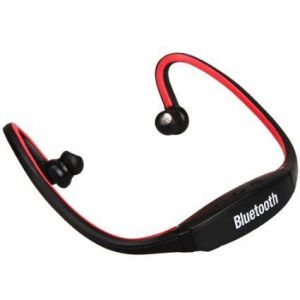 Buy Black Wireless Neckband Bluetooth Stereo Headset Headphone online