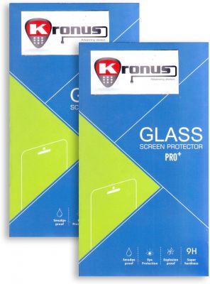 Buy Kronus Nex6-pack-2 Tempered Glass For LG Nexus 6 online
