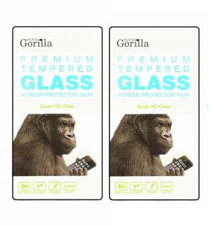 Buy Gorilla Premium Tempered Glass For Apple iPhone 5g (front)( Pack Of 2) online