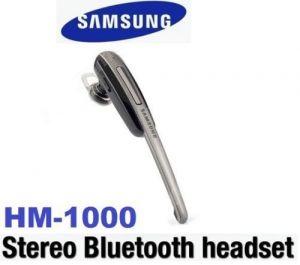 Buy Samsung Bhm1950ncecinu Wireless Bluetooth Headset (black) online