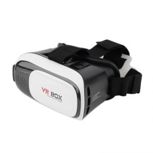 Buy Tech Gear Vr Box Virtual Reality 3d TV Glasses Goggles With Bluetooth Remote Control online