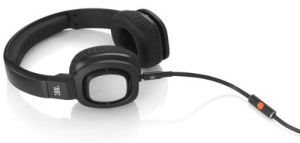 Buy Jbl J55i High-performance On-ear Headphones With Jbl Drivers, Rotatable Ear-cups And Microphone - Black online