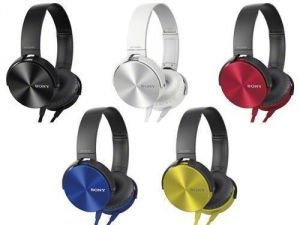 Buy Sony Mdr-xb450ap Xtra Bass Stereo Headphones - Mic online