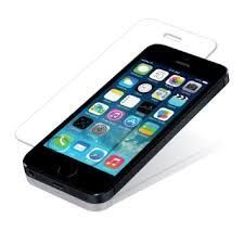 Buy Tempered Glass Screen Guard Scratch Guard Protector For iPhone 5 S online