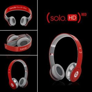 Buy OEM Beats By Dr. Dre Beats (solo Hd) Red Edition On Ear Headphones Red online