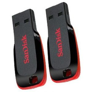 Buy Sandisk Cruzer Blade 4gb,8gb USB 2.0 Pen Drive (combo Pack) online