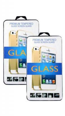 Buy Screen Glass Clear Tempered Glass For Samsung Galaxy A8(pack Of 2) online