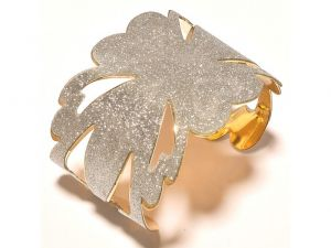 Buy Sanaa Creations Gold Plated Grill Flower Fancy Kada For For All Occasions Free Size online