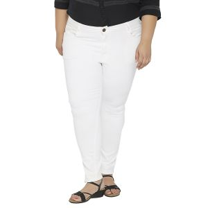 Buy Zush Mid Rise Regular Fit Navy Blue Color Cotton Blend Plus Sized Jeggings For Womens Zu1028 online