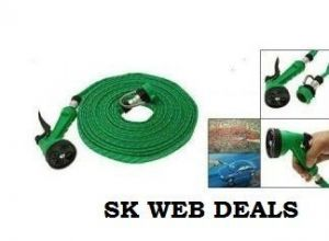 Buy Water Spray Gun 4 Mode Hose Pipe For Garden 5mtr online
