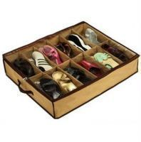 Buy Shoe Under The Perfect Shoe Organiser 12 Pairs Shoe Rack online
