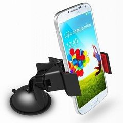 Buy Fly Universal Car Mount Cradle Mobile/gps Stand 360 Degree Holder online