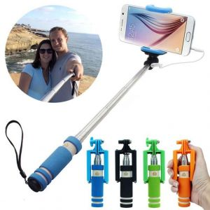 Buy Mini Aux Cable Pocket Selfie Stick In Best Price online