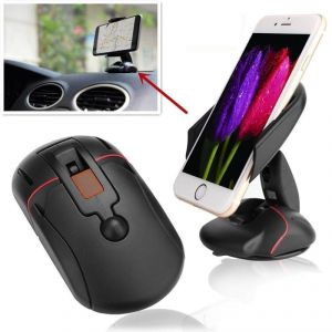 Autoright 360 Car Mouse Holder Windshield Mount Bracket For Mobile Cell  Phone GPS