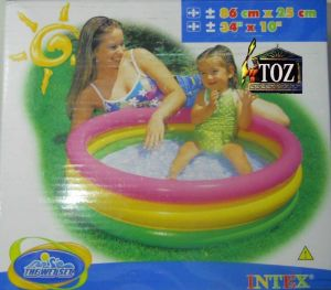 Buy 34 X 10(box) Intex Swimming Pool Baby Toys Inflatable Three Tier Kids Play online