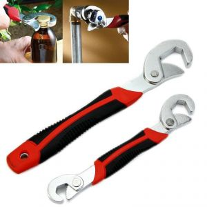 Buy 2pc Multi-function Universal Quick Snapn Grip Adjustable Wrench Spanner Set online