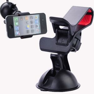 Buy Esmartdeals Car Mount Dual Clamp Clip Bracket Mobile Holder online