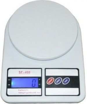 Buy Shoppingekart Plastic Electronics Digital 7 Kg X 1 Gm Kitchen Multi-purpose Weighing Scale (white) online