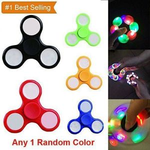 Buy Ultra Cool Fidget Spinner With LED Lights Hand Spinner High Speed online