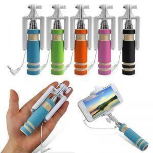 Buy Dr.drey Mini Selfie Stick With Aux Cable online