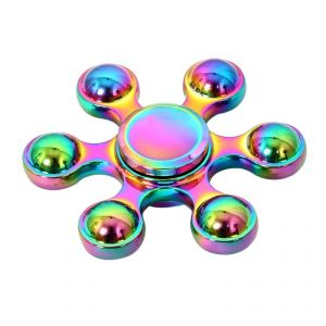 Buy Wheel Power Multicolour Mettalic Heavy Quality Metal Fidjet Spinner online