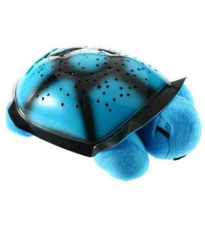 Buy Shop And Shoppee Blue Turtle Night Light Star Constellation LED Child Sleeping Projector With Lights And Music online