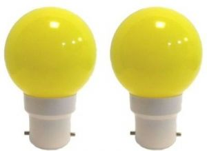 Buy Ornate 0.5 W LED Bulb (yellow, Pack Of 2) online