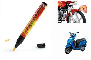 Buy Spidy Moto Auto Smart Coat Paint Scratch Repair Remover Touch Up Pen For Hero Motocorp Maestro online