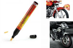 Buy Spidy Moto Auto Smart Coat Paint Scratch Repair Remover Touch Up Pen For Tvs Apache online