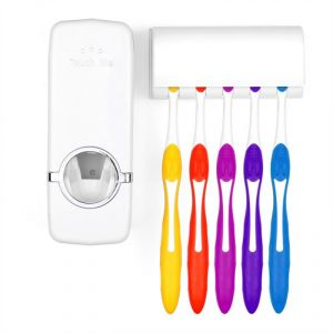 Buy Toothpaste Dispenser Automatic Toothpaste Squeezer And Toothbrush Holder online