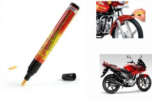 Buy Spidy Moto Auto Smart Coat Paint Scratch Repair Remover Touch Up Pen For Honda Stunner online