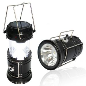 Buy Updated Camping Lantern, Solar Rechargeable LED Camp Light & Handheld Flashlight In The Bottom For Hiking online