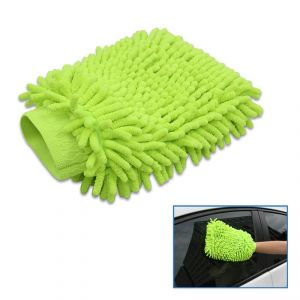 Buy Microfiber Premium Wash Mitt Gloves Set Of 1 PC online