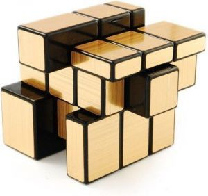 Buy Emob 3x3 Gold Mirror Cube Puzzle online