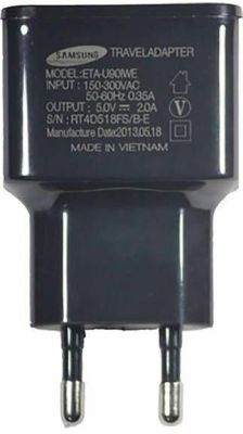 Buy Samsung Eta-u90iwe USB Charger For All Smart Phones (black) online
