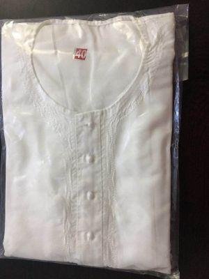 Buy Mes Cotton White Kurta Paijama online