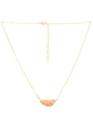 Buy Rubans Gold Neck Chain & Pendant Code- 105487 online