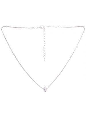 Buy Rubans Silver Neck Chain & Pendant Code- R100016 online