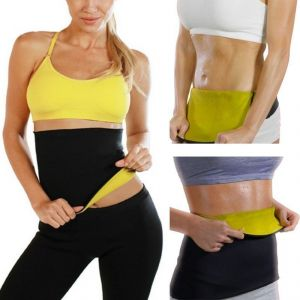 Buy Unisex Hot Body Shaper Belt Slimming Waist Shaper Belt Thermo Tummy Trimmer Hotbeltshap-xl online