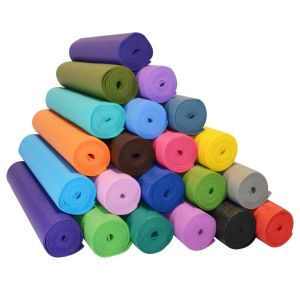 Buy Home Basics 6 MM Yoga Mat Anti Slip Non Slip Surface Exercise Mat online