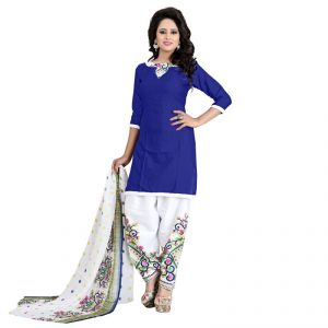 Buy Trendz Apparels Multi Colored Crepe Printed Dress Material (product Code - Product Code - Pnx5044) online