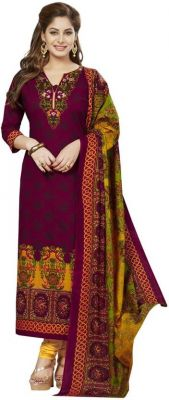 Buy Elegant Cotton Designer Printed Dress Material Salwar Suit online