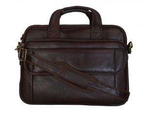 Buy Right Choice Brown Color Laptop Messenger Bag online