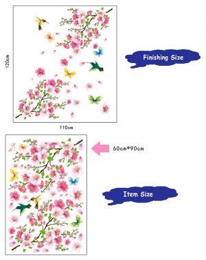 Buy The Plum Blossom Wall Sticker (60 Cm X 90 Cm) online